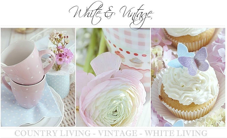 Deko, Wohn- und DIY Blog - White and Vintage