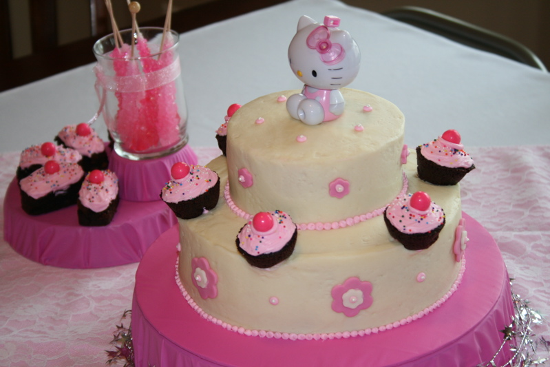 Hello Kitty Birthday Cake Terannes Cookbook