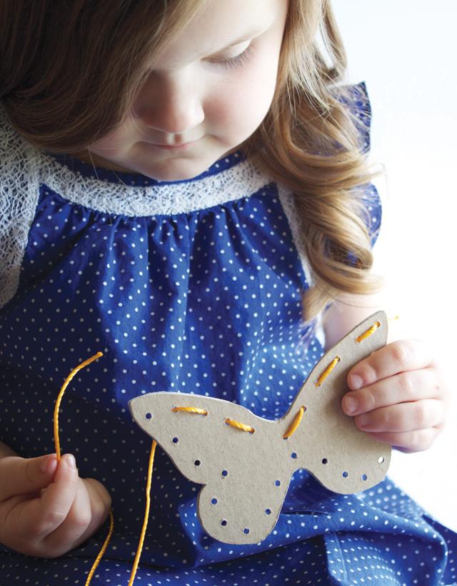 Toddler Sewing Cards
