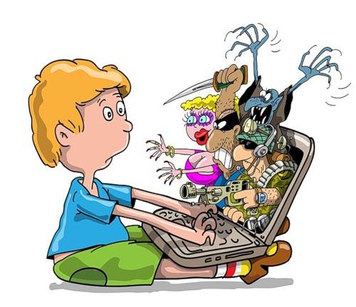 Удалённая работа Работа фрилансера Крутиков Николай krutikov Дети и интернет