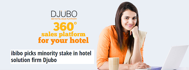 Ibibo acquires stake in hotel tech startup Djubo