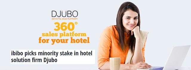 Ibibo acquires stake in hotel tech startup Djubo