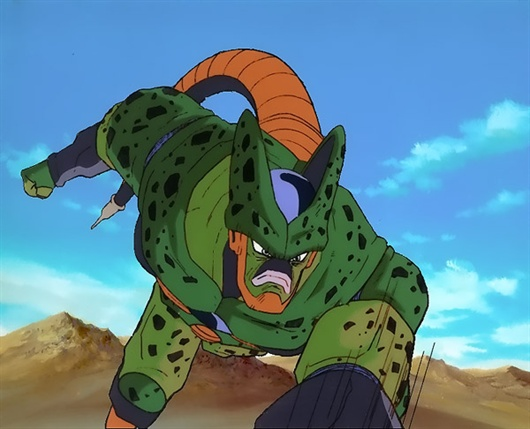 dragon ball z wallpapers semi perfect cell