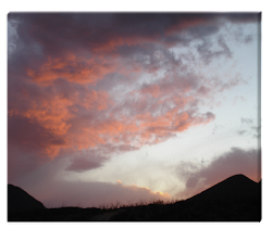For Sale: Terlingua Sunset 30x37 Large Canvas Print