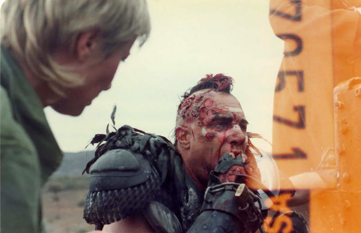 Futuro Finale 2088AD: On set with Wez. Vernon Wells Mad Max