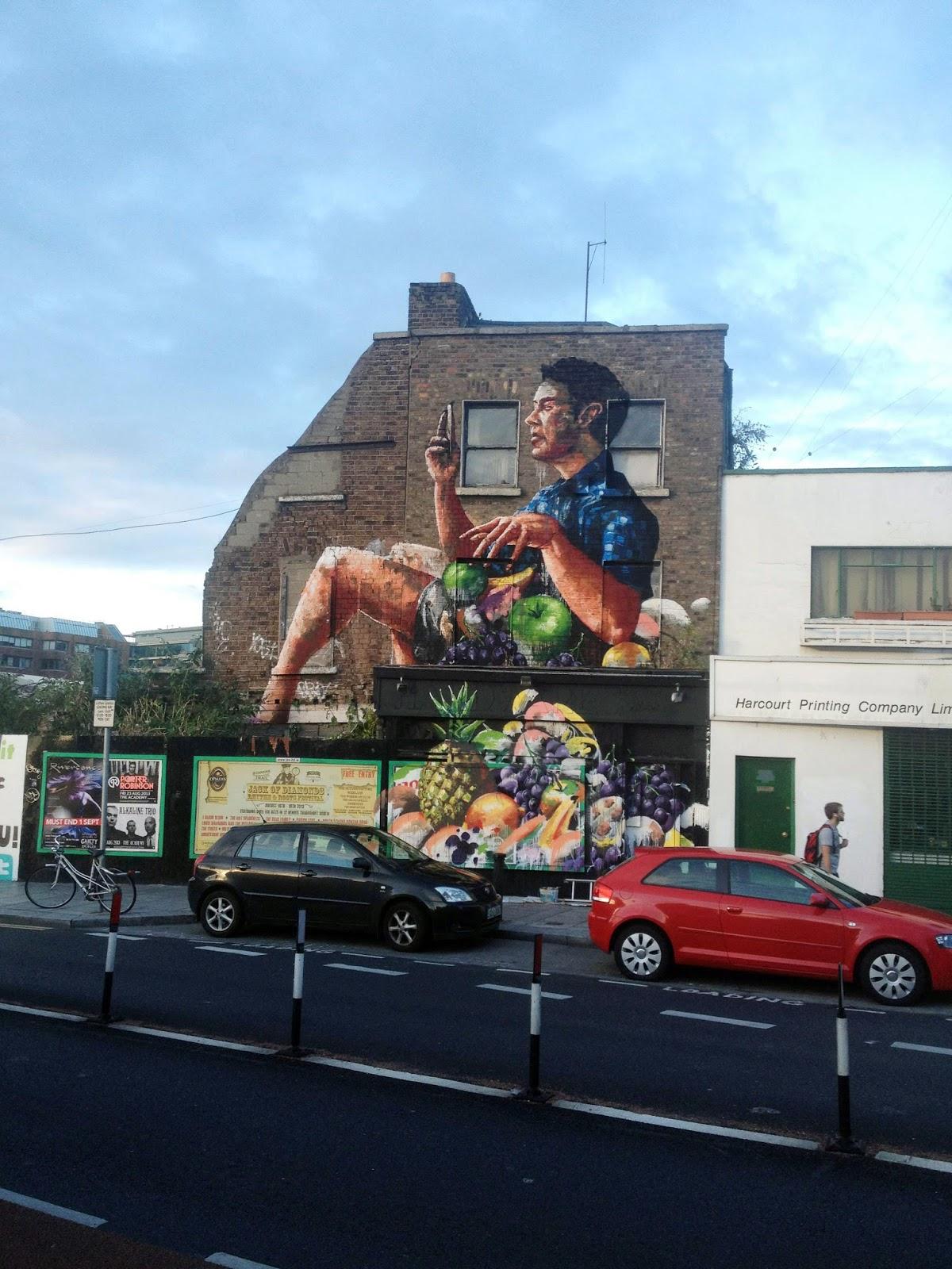 Fintan magee new mural in dublin ireland streetartnews for Mural ireland