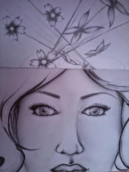 Flores, alas, vuelos, espinas; una Rosa.