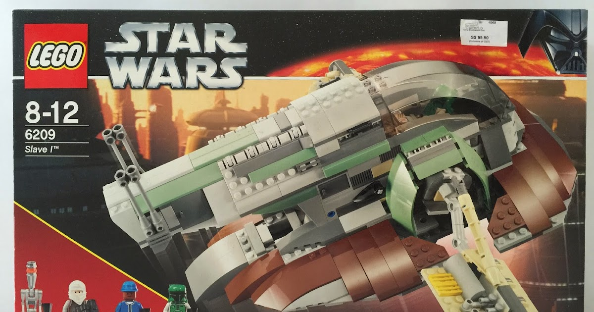 The Marriage Of Lego And Star Wars Review 6209 Slave I