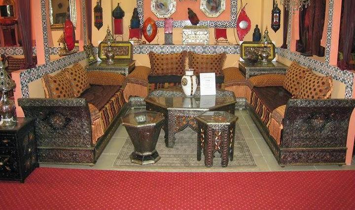 Salons du maroc et d coration orientale salon marocain for Platre sculpte marocain
