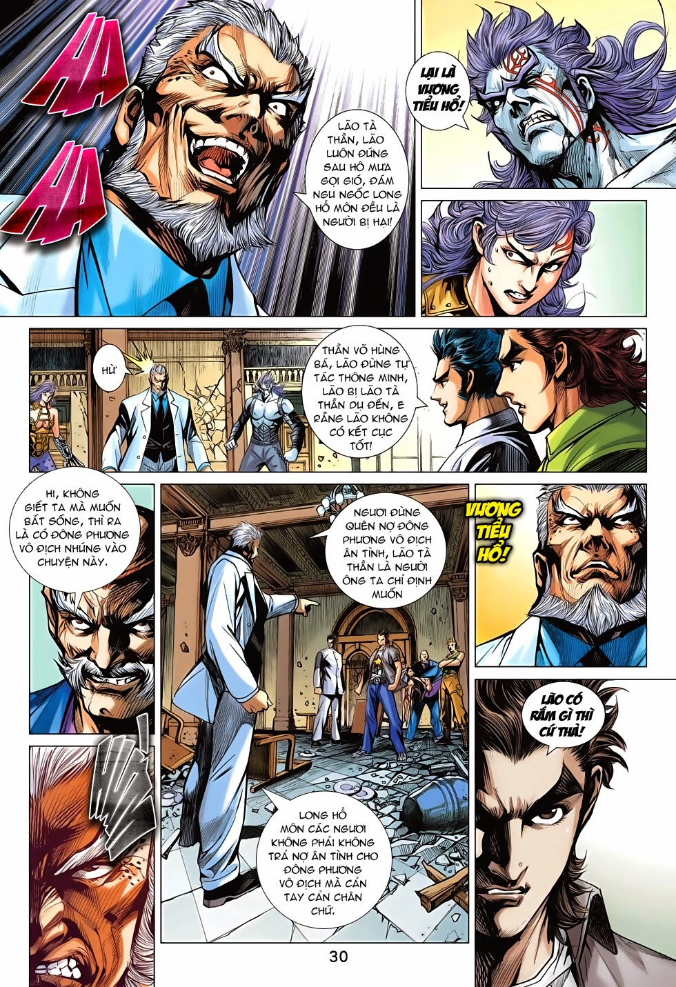 Tân Tác Long Hổ Môn chap 698 - Trang 29