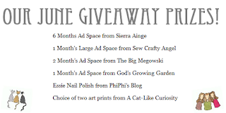 Our June Giveaway!