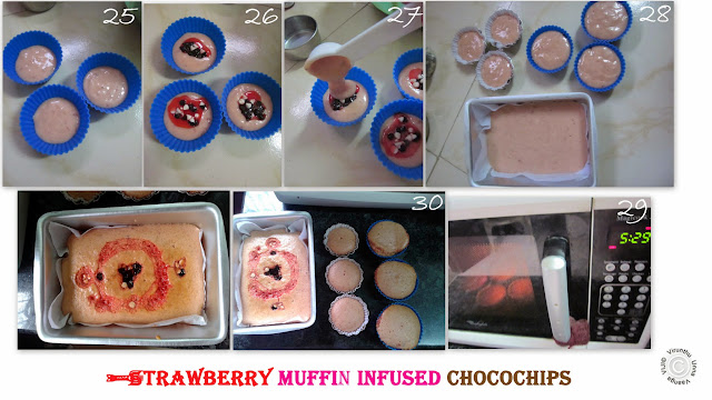 STRAWBERRY MUFFIN INFUSED CHOCO CHIPS