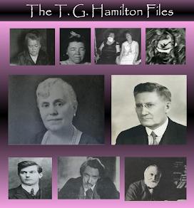 The T. G. Hamilton Files 2018