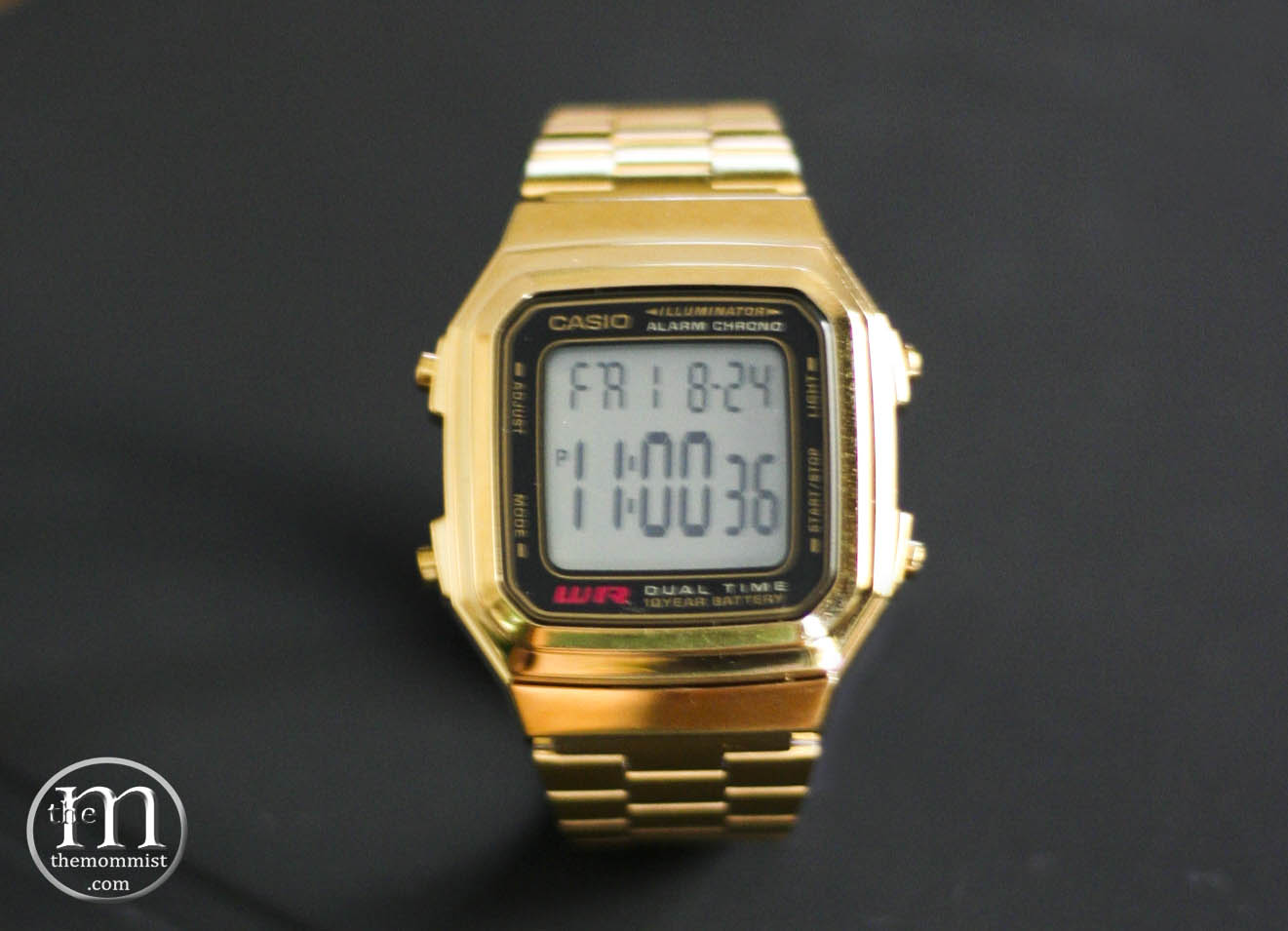 casio vintage gold is back in style the mommist