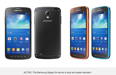 SAMSUNG GALAXY S4 ACTIVE FULL SPECIFICATIONS