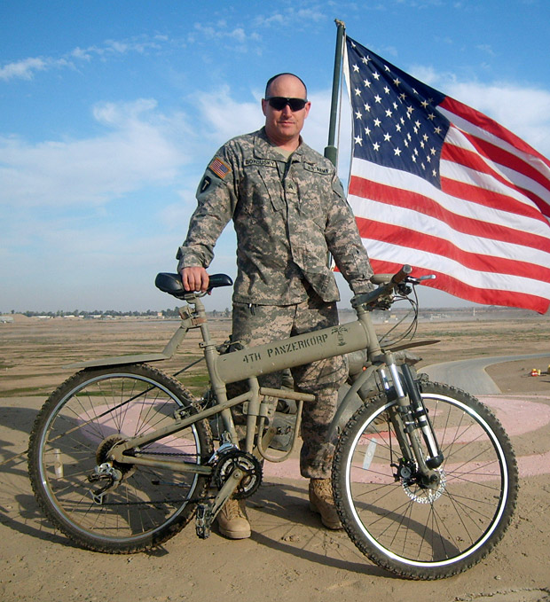Montague Paratrooper- Tactical Folding Mountain Bike