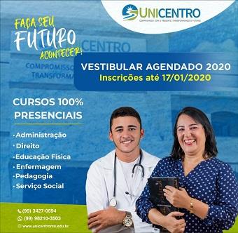 UNICENTRO - VESTIBULAR AGENDADO 2020