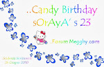 Ho Indetto il Candy Birthday Soraya's 23