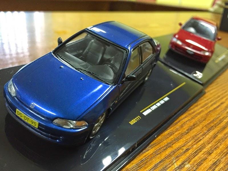 Diecast Honda CivicEG9 SiR 1992