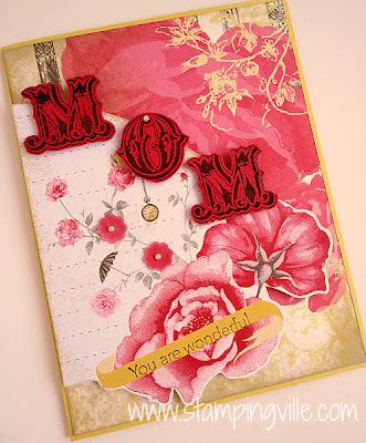 Attic Boutique Vintage Card for Mom