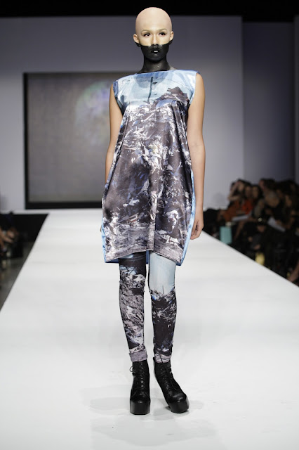Local News: Experimental artist Lisu Vega debuts 'Fall/Winter 2013 Contemplation Collection' at MFW