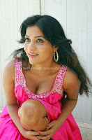 Anitha, Reddy, Showing, her, deep, cleavage