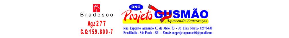 Organização Não Governamental Projeto Gusmão