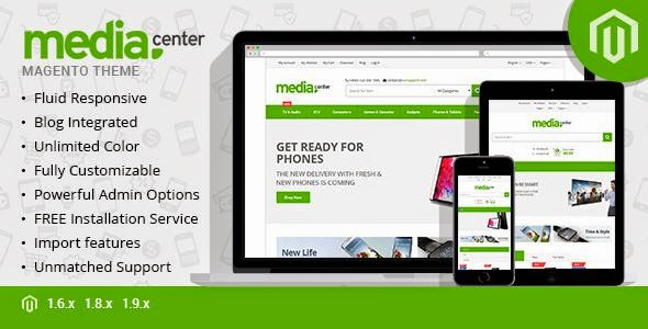 Best Multipurpose Responsive Magento Theme