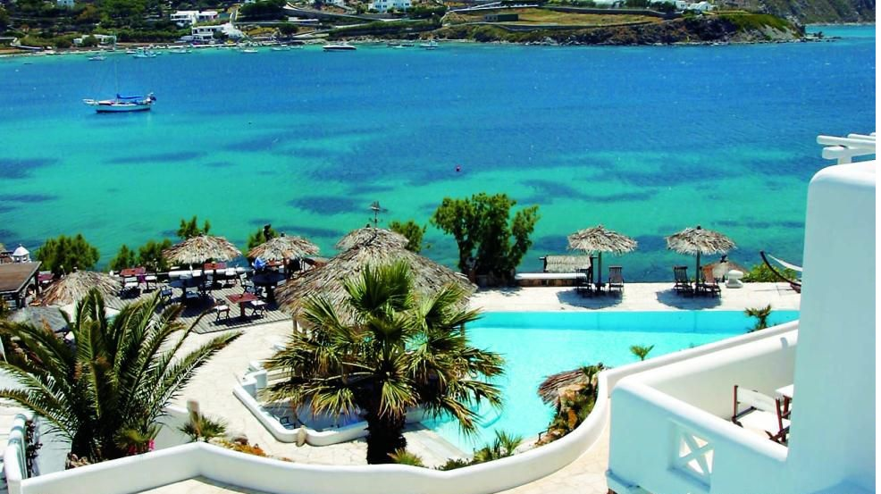 Luxury experiences kivotos mykonos for Top hotels griechenland