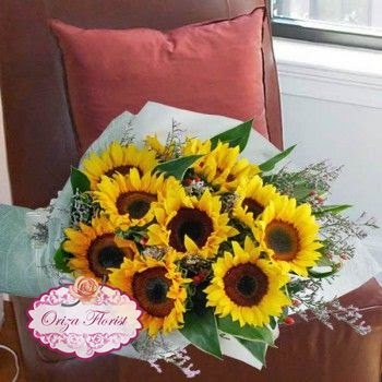 Jual Bunga Matahari Surabaya, Jual Buket Bunga Matahari