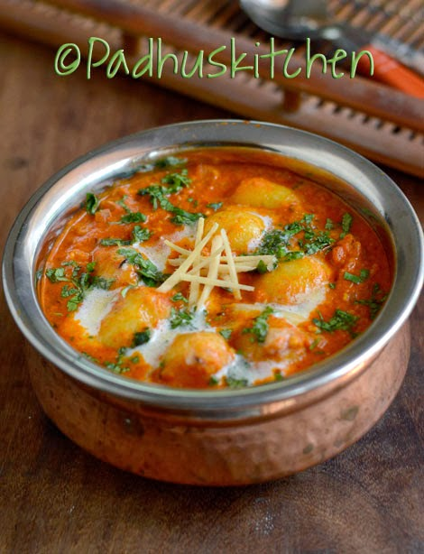 Dum Aloo-Dum Aloo recipe-How to prepare Dum Aloo | Padhuskitchen