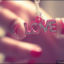 love, girl, hand, art