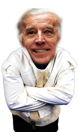 Biden in straight jacket