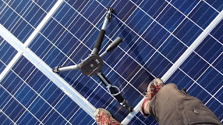 Photovoltaic Panels and Tripod