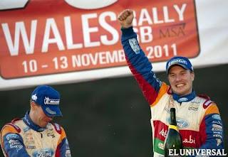 RALLY-Latvala pudo con Loeb en Gales