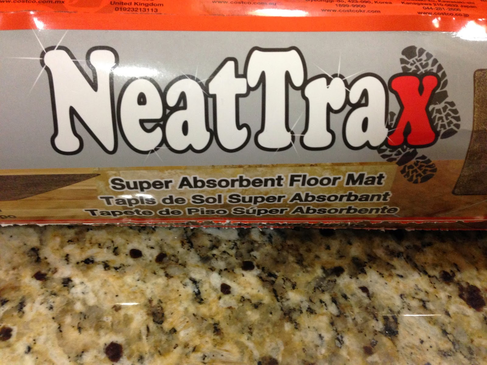 Rubber mats costco - Review Of Neattrax Super Absorbent Floor Mat From Costco
