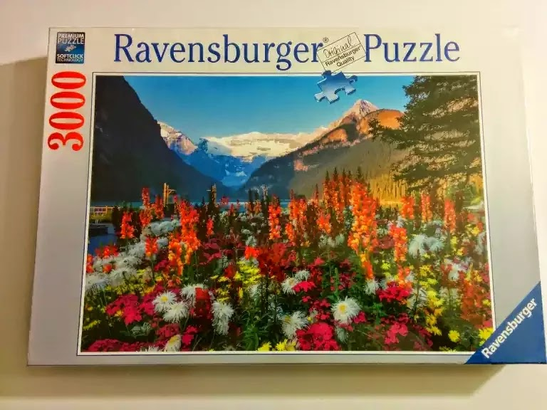 Ravensburger Flowery Mountains 3000 piece jigsaw puzzle