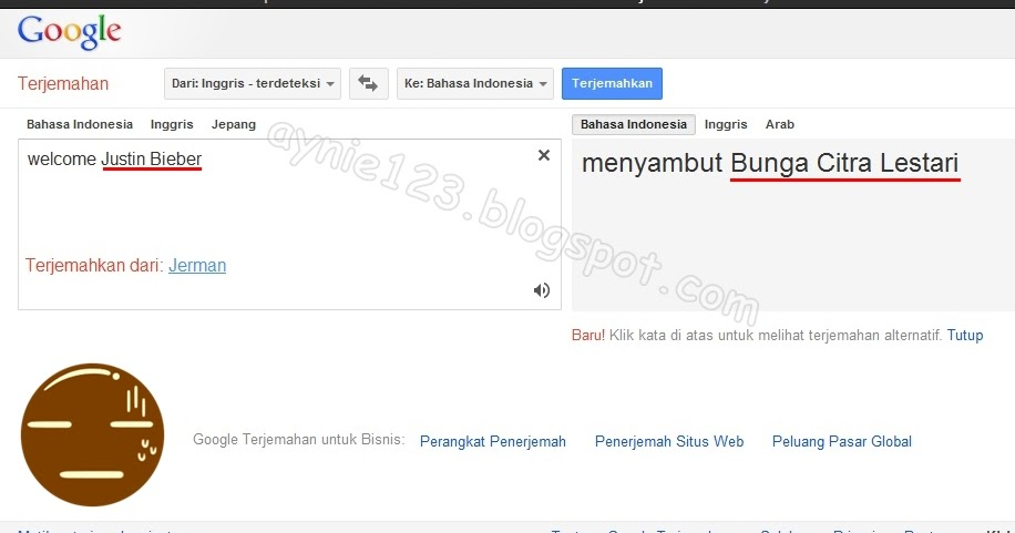 Google translate nya mabok aynie archie stopboris Image collections