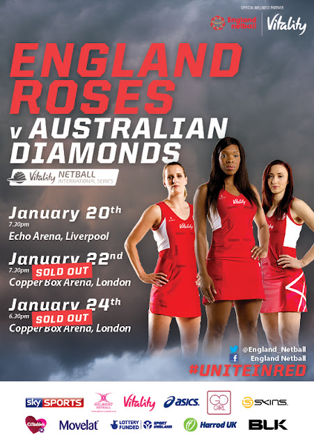 Click Here To Watch Netball International Series Live