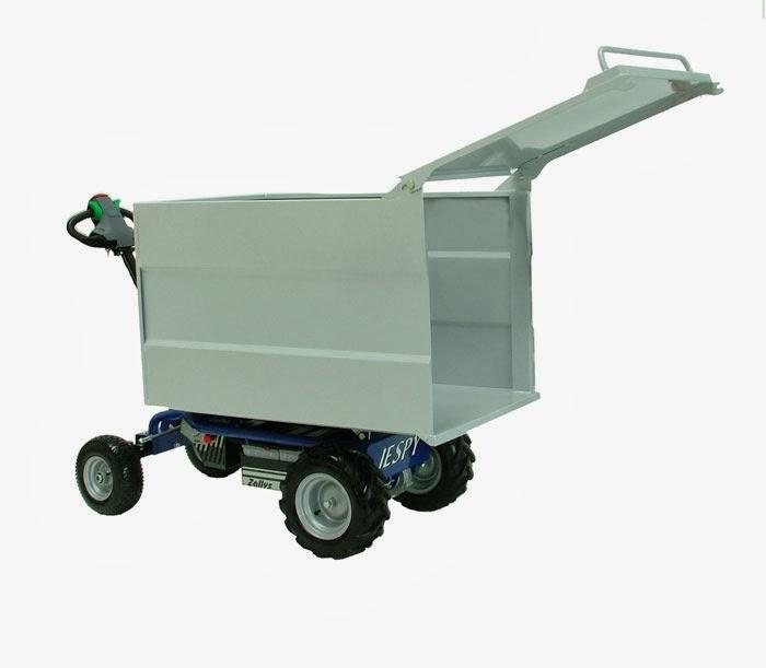 Powered Cart Electric Platform Truck Mod Jespi Made By Zallys