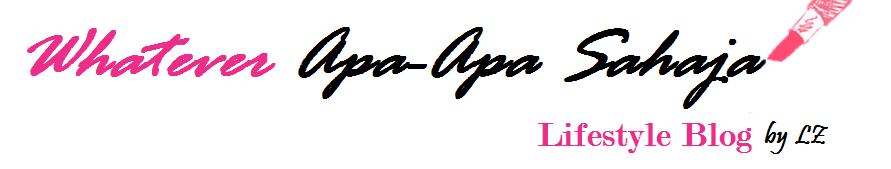 Whatever Apa-Apa Sahaja