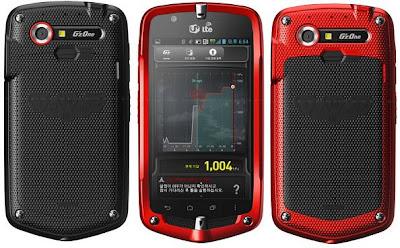 Nec Casio G'zOne CA201 L CDMA WCDMA LTE pics