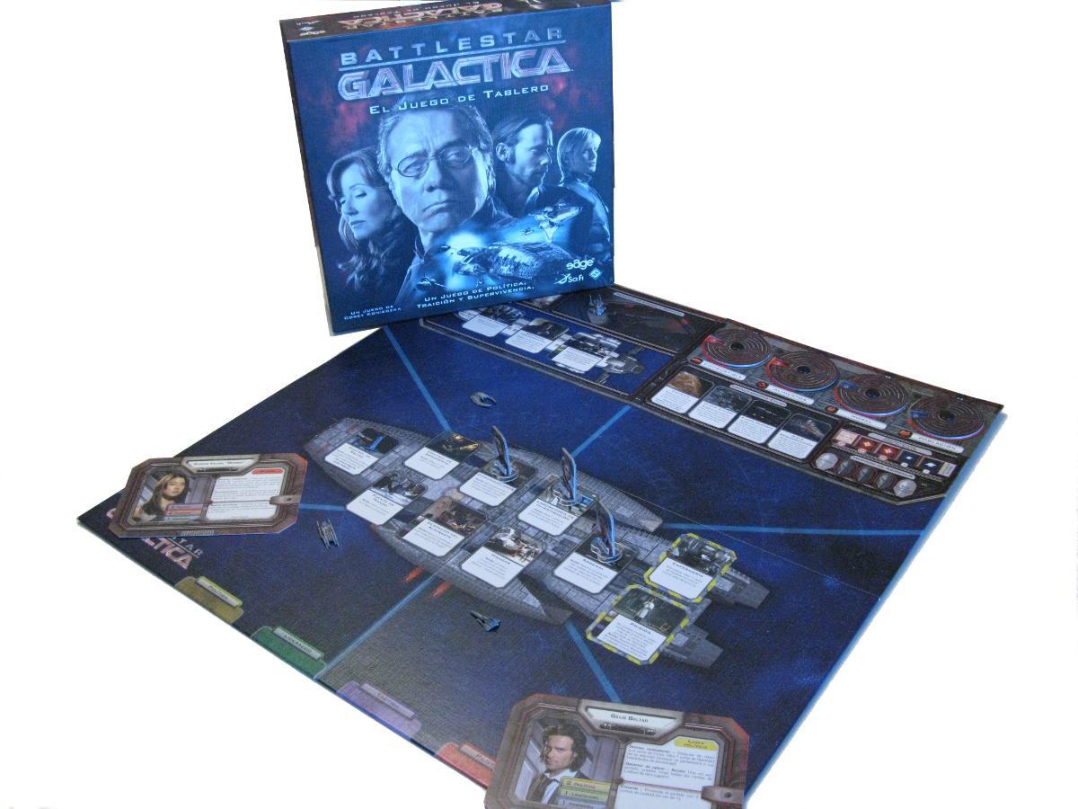 Battlestar Galactica - tablero