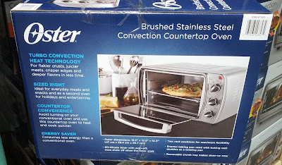 Heat up last night's leftovers with the Oster TSSTTVCG03 Toaster Oven