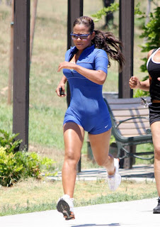 Christina Milian Candids in Woodland Hills