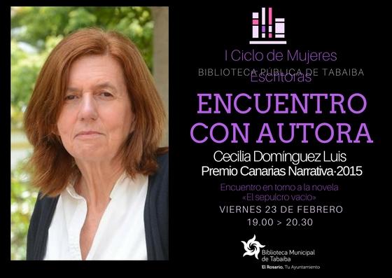 Encuentro con Cecilia Domínguez Luis