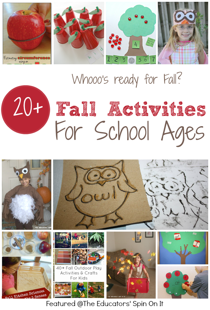 Fall Activities for School Ages
