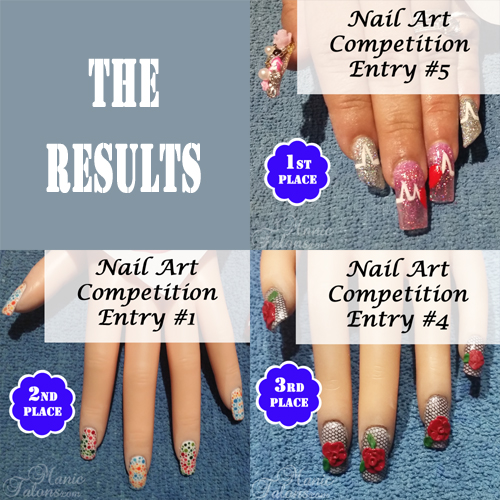 GCI Nail Technology Valentine's Day Nail Art Contest Winners