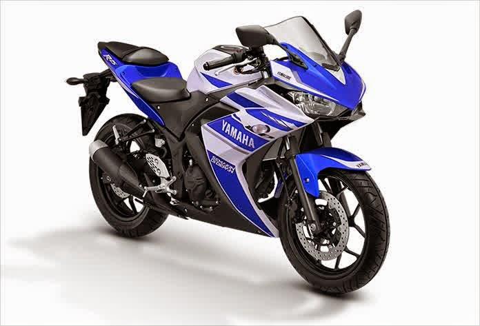 Yamaha R25 Motor Sport Racing dan Kencang Biru