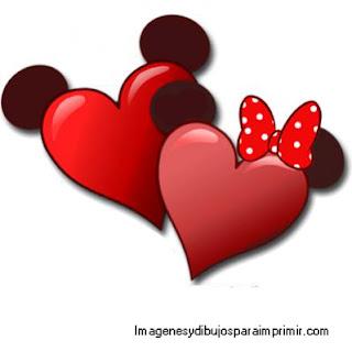 corazones disney